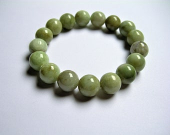 Jade - 1 set - 17 beads - 11mm - 38 grams - JJ1