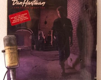"ON SALE Dan Hartman Vinyl Record Album LP 1980s Pop Soft Rock and Roll Vh1 classic ""I Can Dream About You"" (Rare Sealed original 1984 Mca)"