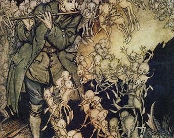 The Gnomes,  Arthur Rackham, Vinatge Art Print