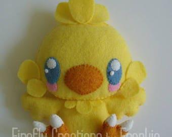 Final Fantasy Baby Chocobo Collectible Shelf-Sitter Plush