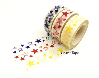 Stars Washi Tape 10m x 15mm WT35 WT132