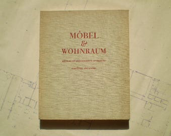 Mobel & Wohnraum - 1946 - Meubles et Amenagements Interieurs - Furniture and Rooms - Interior Design - by H. Guyer and E. Kettiger