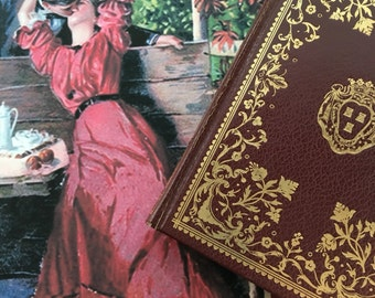 Madame Bovary 1949 Collectors Library Edition Leatherette Bound Book Victorian Era Romance Novel Gustave Flaubert Translation By Joan Charle