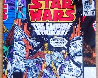 Star wars, c3po, luke skywalker, retro comic cover cushion, cushion, pillow, throw pillow, character