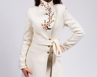 Luca 2 winter coat (ivory, black, red, navy)