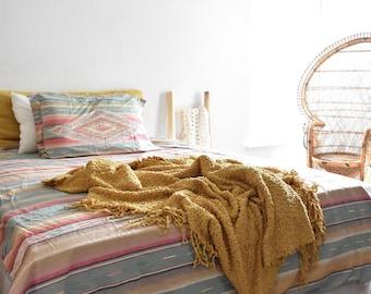 Ralph Lauren full size pink southwestern duvet blanket cover