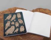 A6 Owls Notebook