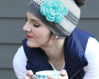 Messy Bun Crochet Hat Pattern, Ponytail Hat Crochet Pattern, Crochet Beanie Pattern, Crochet Hat Pattern