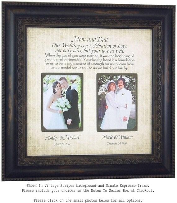 Wedding Presents For Parents Uk : Wedding Gift for Parents, Parents Wedding Gift, Mother of the Groom ...