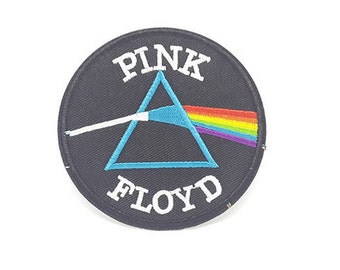 Pink Floyd Patch Rock Band Patches Iron On Patch size 3""