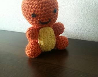 Charmander , crochet Charmander , little pokemon  Chibi Charmander