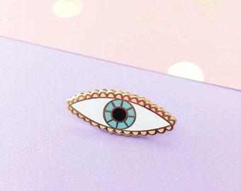 Evil Eye   Enamel Pin