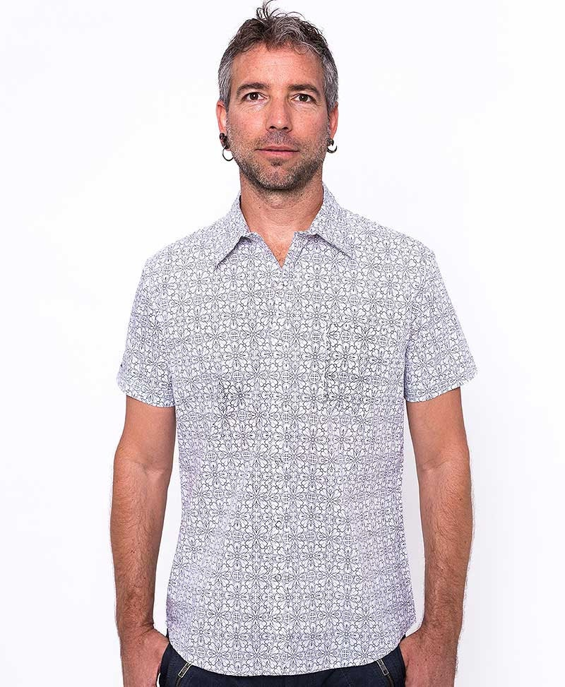 Mens fashion shirt white button down shirt short by iiisoliii for White button down shirt mens