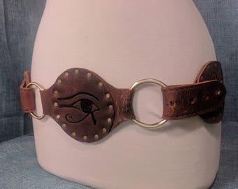 Eye of Ra Ancient Egyptian O-Ring Belt