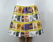 Playbill skirt (choose up to 10!)- made to order