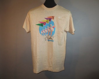 "SALE***1982 The GoGo""s // Vacation Tour of America, Vintage T-Shirt // Tour Sportswear // Deadstock"