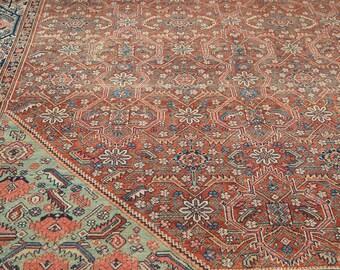 7x10.5 Vintage Mission Malayer Carpet