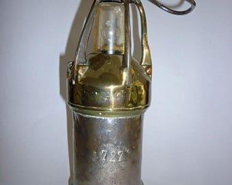 Antique European Miners Lamp Lantern, European Ship Lantern