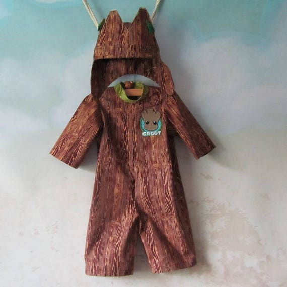 I Am Baby Groot, Tree Costume