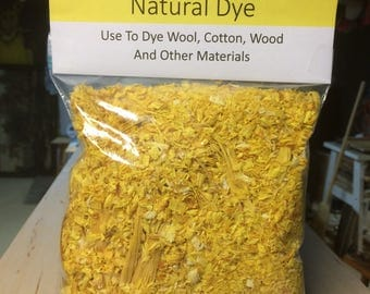 5 Ounces of Osage Orange Wood Chips and Shavings for Natural Dye for Wool, Alpaca, Cotton Osage Dye, Natural Dye