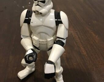 Storm trooper plastic figurine