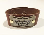 If God is within her cuff