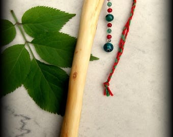 Apple Keppen Wand - Druid, Celtic, Witchcraft, Magic, Pagan, Wicca