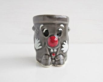 Vintage Small Dusty Bin Ceramic Ornament - Dusty Bin