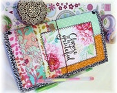 OOAK Fauxdori, Gratitude Journal Midori, Traveler's Notebook, Free Insert!