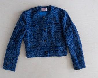 vintage pendleton crop jacket