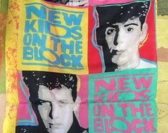 NKONTB Sleeping Bag • New Kids on the Block • Vintage Sleeping Bag • Kid's Sleeping Bag • Boy Bands • Boy Band Merch • 80s Sleepover