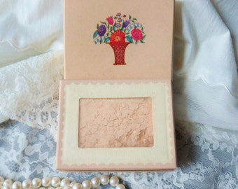 Blossom Color, Cara Nome Face Powder from the 30's, Never Opened 4 oz. Box
