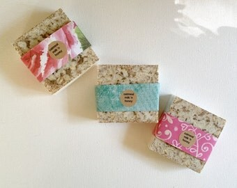 25 bars soap: full sized wedding favors or gifts