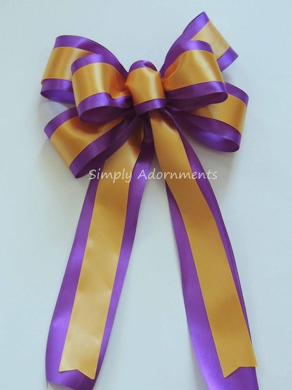 Purple Gold Shower Party Decor LSU Grad Party Decor Purple and Gold Graduation Party Decor Birthday Party Decor Purple and gold Sports