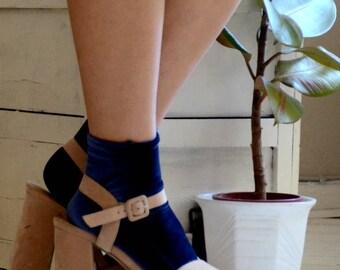 Short socks Velvet