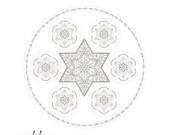 Jewish Star Seder Plate-P...