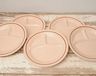 Toltec Ware Restaurant Divided Plates USA