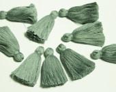 Gray India Tassels 2'', Boho Jewelry Making Tassels, Ethnic Supplies for Jewelry (TS9)