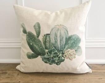 Cactus Pillow Cover
