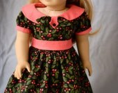SALE-Holly and Dots for 18 Inch Dolls