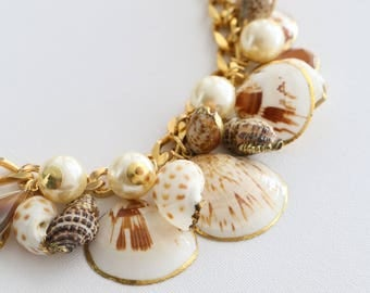 Shells Necklace - Earth
