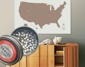 Usa Etsy - Map teardrop from russia to us