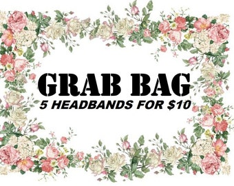 Grab Bag Headbands, Sale, Headbands, Baby Headbands, Headband Set, Bow, Baby Bow, Baby Hairbows, Headband, Infant Headband, Newborn Headband