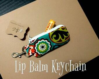 Lip Balm Holder Keychain