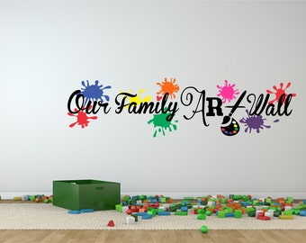 family wall art wall decal kids wall decal family wall art vinyl wall