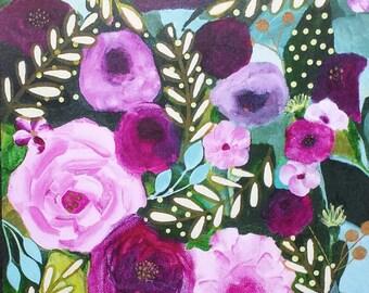 "PRINT of original painting ""Presence"" by Jeana Perkins 8x10"