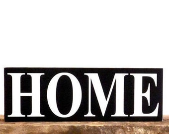 Home Sign, Home Gifts, Decor Wall Art, Wall Hang, Living Room Decor, New Home Housewarming Gift, Gift For Newlyweds, Rustic Home Decor