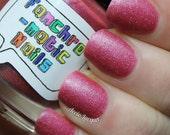 Sure As Sugar Nail Polish - pink matte shimmer