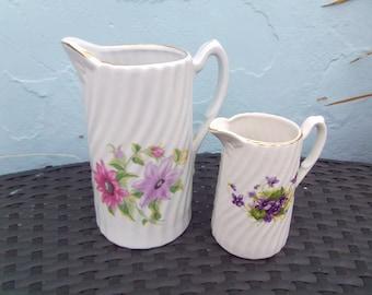 Pair of Vintage jugs