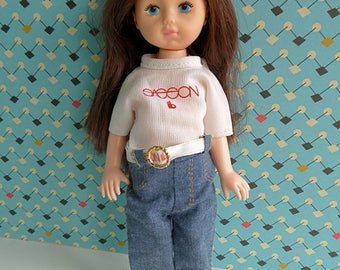 SASSON GINNY Original T-Shirt and Jeans  - also for Lesney Ginny, Riley Kish
